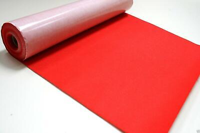 Self Adhesive Felt Baize Fabric Mini Rolls - RED