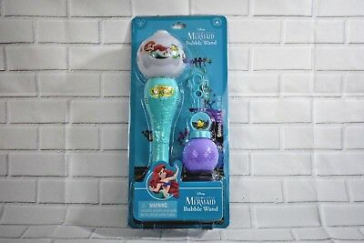 Disney Parks Little Mermaid Ariel Bubble Wand Bubbles Under the Sea Musical