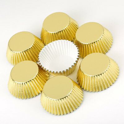 Paper Coloured Cupcake Cases Muffin Baking Cup Cake Quality Greaseproof Wedding