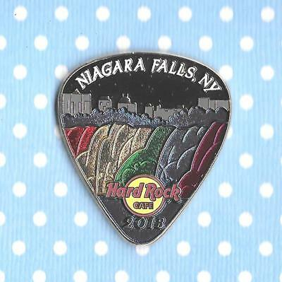 Hard Rock Cafe Niagara Falls USA – 2013 – Midnight Falls Pick #72649 ☆🎶☆
