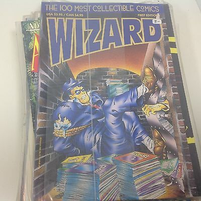 Dark Horse Comics WIZARD  THE GUIDE TO COMICS 100 Most Collectible Comics 1st Ed