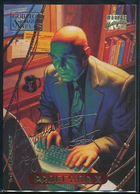 1994 Marvel Masterpieces Gold Signature Trading Card #90 Professor X