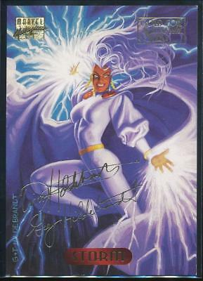 1994 Marvel Masterpieces Gold Signature Trading Card #118 Storm