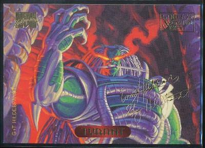 1994 Marvel Masterpieces Gold Signature Trading Card #127 Tyrant