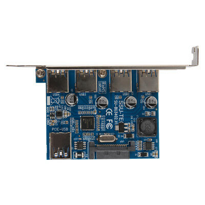 5 GBbps Speed ​​USB3.0 PCI Express Erweiterungskarte 4Port für Windows AC1534