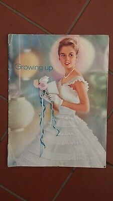Modess Growing Up Vintage Booklet Pamphlet 1966