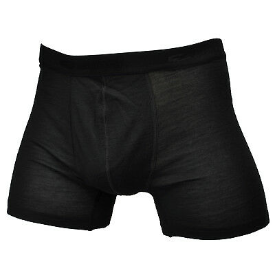 Men's 100% Merino Wool Defect Breathable Boxer Underwear Briefs Outdoors Sports