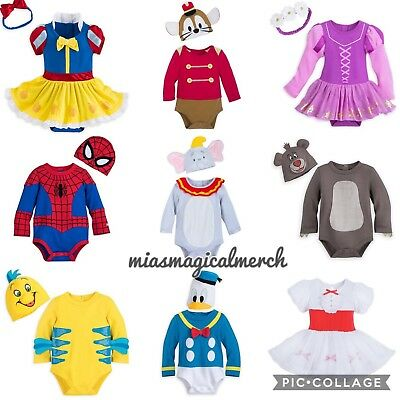 Brand New Baby UNISEX Disney 2 Piece Outfit Costume 9 Designs To Choose From