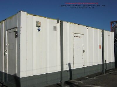 24ft x 10ft Anti Vandal portable site toilet Male & Female with private shower