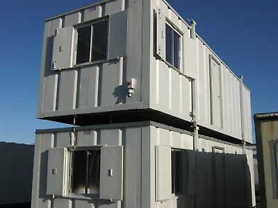 32ft x 10f Anti Vandal Portable Cabin DOUBLE OFFICE with Kitchen area SCOTLAND