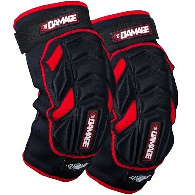 Virtue Damage Paintball Knee Pads / Knieschoner (rot/schwarz)