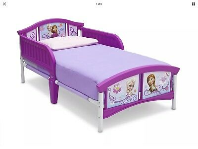 Delta Children Disney Frozen Toddler Sleeping Bed For Girls Princess Anna