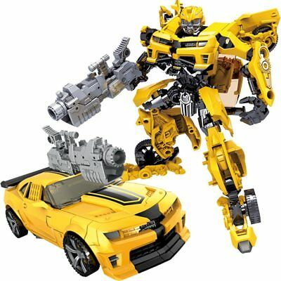 Children's Robot toy Transformer Car model ABS plastic Action Figure boy Gift
