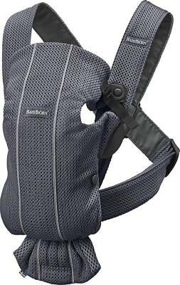 Babybjorn Baby Carrier Mini In Anthracite 3D Mesh Bnib - Rrp £85