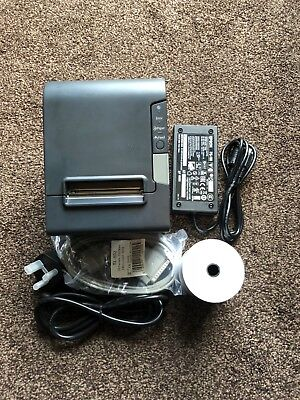 Epson TM-T88V Thermal Receipt Printer Serial and USB with PSU & Cables Epos