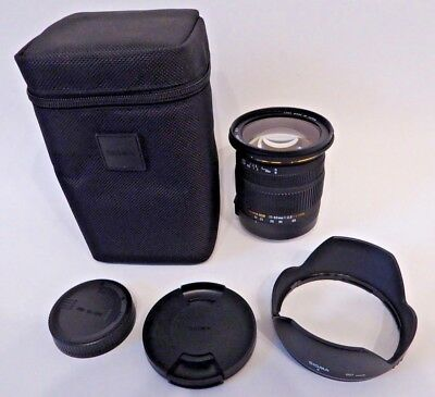 Sigma EX DC OS HSM 17-50mm F/2.8 Zoom Lens for SIGMA- Excellent condition