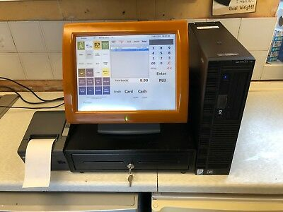 "*BARGAIN* Complete Aures 15"" Touch Screen Epos System, Dual Core, Printer, Drawe"