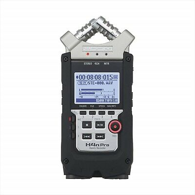 ZOOM H4nPro Handy Portable Recorder Digital Audio Linear PCM H4n F/S w/Tracking#