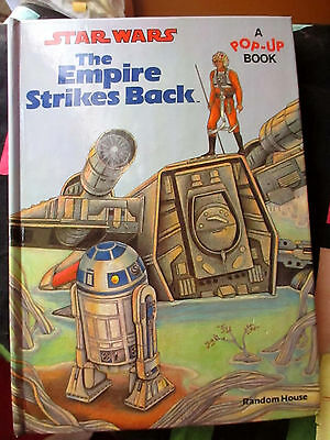 STAR WARS The Empire Strikes Back A Pop-Up Book 1980 Hardcover Book