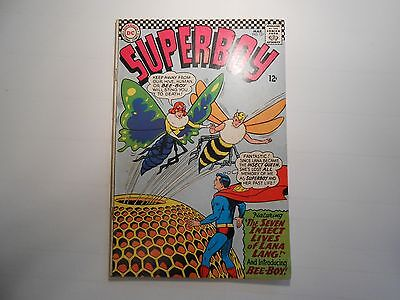 Superboy #127 Mar 1966, DC!! 6.0 FN!!! Lana Lang as an Insect! Late Silver age!!