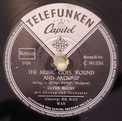 Clyde Mc Coy - The Music Goes Round And Around
