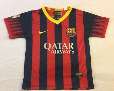 pretty nice 95238 52c27 LIONEL MESSI FC Barcelona Nike Toddler Youth Soccer Football ...