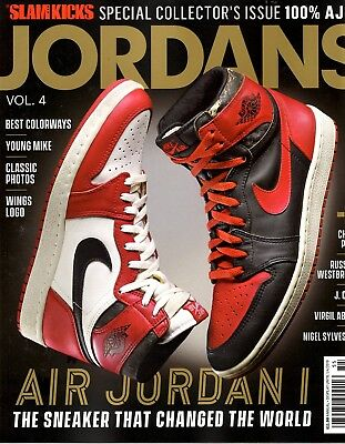 Slam Magazine KICKS 2018 Sneakers - Jordans Vol 4 MICHAEL JORDAN AIR JORDAN 1