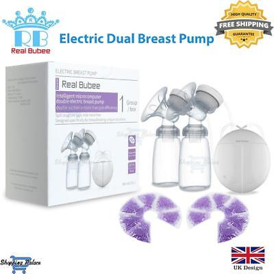 *SALE* Real Bubee SingleDouble Electric Breast Pump Baby Breast Feeding Infant