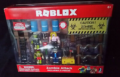 Roblox Zombie Attack Playset 45 49 Picclick Uk - roblox zombie attack codes