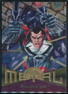 1995 Marvel Metal Trading Card #50 Punisher 2099