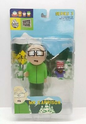 (New Sealed) 2004 Mirage South Park Series 3 Mr. Garrison Figure Comedy Central