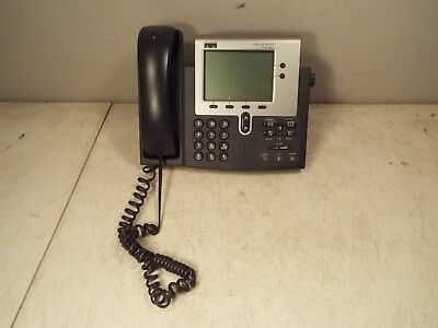 Used Cisco Systems CP-7940G IP Phone 7900 Series 48V 0.2A - Works