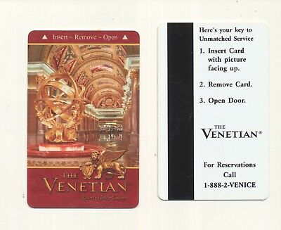 older---THE VENETIAN---{before the Palazzo}----Las Vegas,NV---Room key-K-35