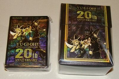 Japanese Yugioh, 20th Anniversary Deck Case & Sleeves (100) Set Promo Sealed