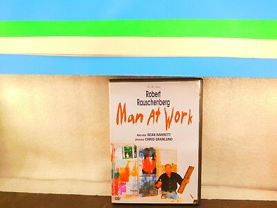 Robert Rauschenberg - Man At Work on DVD Rare