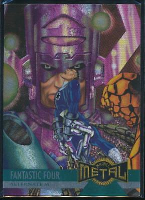 1995 Marvel Metal Trading Card #129 The Fantastic Four Lose to Galactus