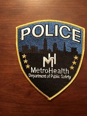 METRO HEALTH POLICE Patch Cleveland