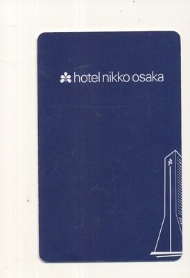 HOTEL NIKKO--Osaka,Japan-----Room key--K-56