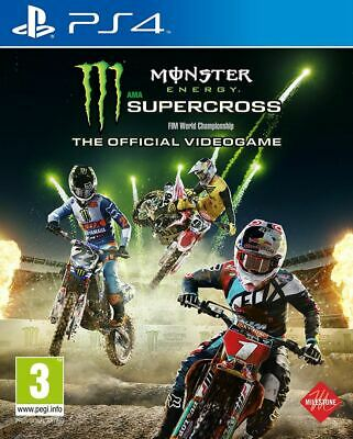 Monster Energy Supercross - The Official Videogame Ps4 Game