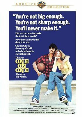 One On One DVD 1977  Robby Benson Annette O'Toole (MOD DVD-R)