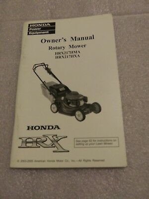 How to service out your honda hrx217 basic maintenance procedures.