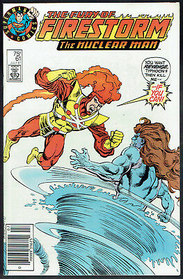 THE FURY OF FIRESTORM  61  VF/NM/9.0  -  Variant logo cover! Our 2nd copy ever!