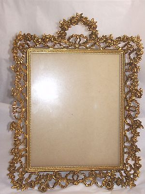Victorian Antique Perfume Tray or Picture Frame ornate beautiful