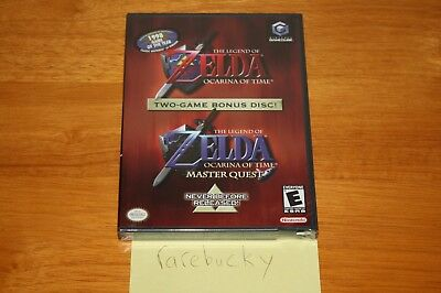 Legend of Zelda: Ocarina of Time / Master Quest Combo (Gamecube) NEW SEALED NM!