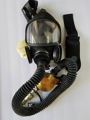 Duo Twin Respirator Black Emergency Survival Safety Respiratory Gas Mask
