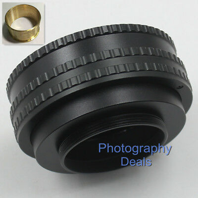 Camera & Photo Lens Adapter M65-m65 17-31 M65 To M65 Mount Focusing Helicoid Ring Adapter 17-31mm Macro Extension Tube