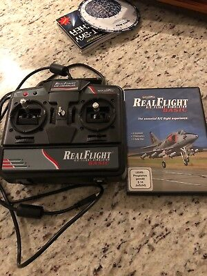 real flight rc simulator With Controller