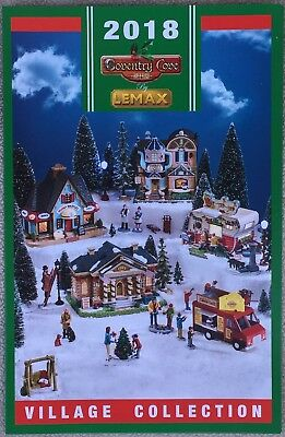 Free shipping! 2014 Lemax Village Christmas Collection Coventry Cove