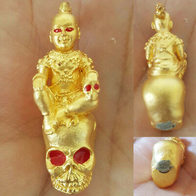 Kuman Somlit LP Suphasit Thai Amulet Attract Luck Rich Wealth Protect Talisman