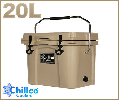20L Chillco Ice Box Cooler Chilly Bin Superior Ice Retention